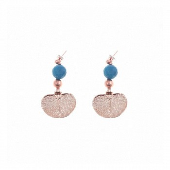 Ester Bijoux Колье Agata Oltremare and Cypress Арт.: CL952-RG/BL BR